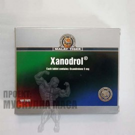 Xanodrol (Анавар) Malay Tiger - цена