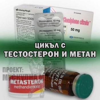 Цикъл с Тестостерон и Метан за начинаещи