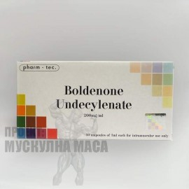 Boldenone Pharm Tec 200 mg/ 1ml.
