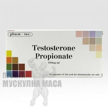 Тестостерон пропионат цена за 10 ампули Testosterone Propionate Pharm Tec.