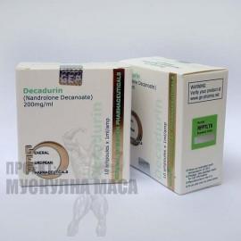 Дека дураболин - цена за Decadurin GEP (10амп / 1мл / 200мг).)