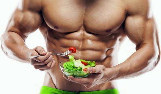 Хранителен режим с прием на анаболни стероиди за релеф и намаляване на мазнини.