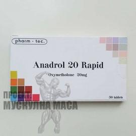 Анаполон/Anapolon на Pharm-tec с добър ефект и действие.