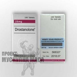 Мастерон (Masteron) на хапчета с активен състав метилдростанолон.