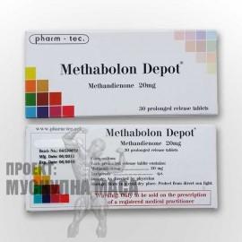 Ефективен метандиенон (Methabolon Depot) на Pharm Tec. Качествен метан с продължително действие.