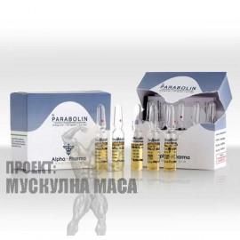 Параболан е анабол със силно действие. Parabolin /alpha pharma/ съдържа Тренболон който се инжектира през по-голям интервал време.