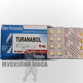 Цена на туринабол /Turanabol/ Балкан фармацевтикал. Туринаболът няма странични ефекти, добър анаболен стероид за релеф.