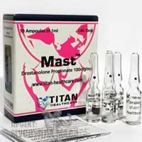 Masteron Titan е качествен дростанолон пропионат. Мастерон има добро действие, без странични ефекти.