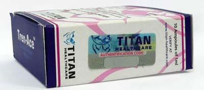 Тренболон ацетет Титан – цена: / Trenbolon acetate Titan 10 ampules..