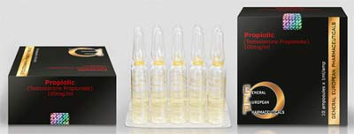 Качествен Тестостерон пропионат Геп - цена за 10 ампули.